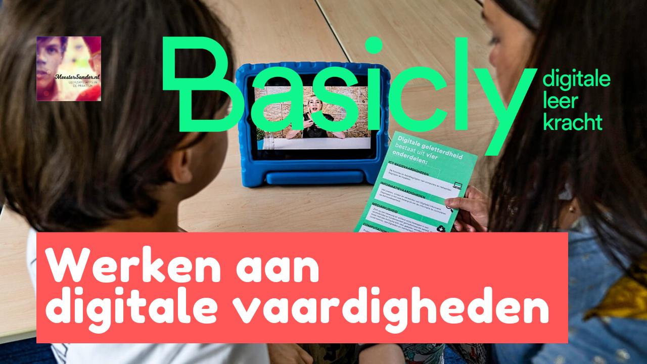 Werken aan digitale vaardigheden met Basicly.co